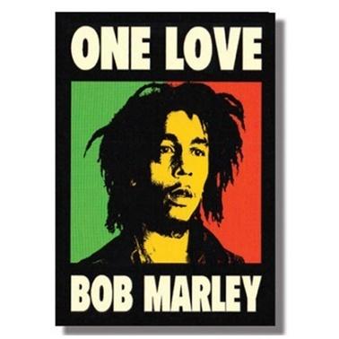 Deffter Bob Marley Sert Kapak Detfer Çizgili Renkli
